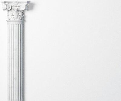 Naklejka antyczne kolumny