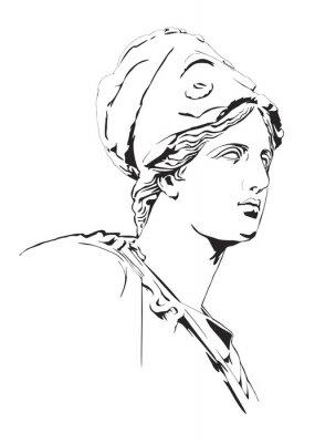 Naklejka Antyk grecki posąg