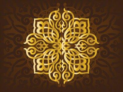 Naklejka Arabski ozdoby
