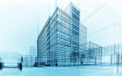 Naklejka architektura