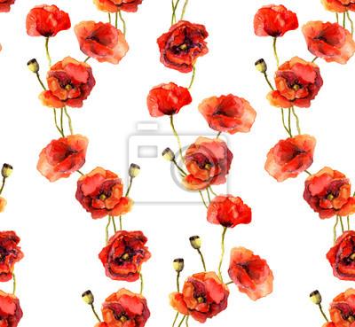 Archiwalne tła kwiatu maku