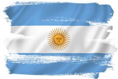 Naklejka Argentyna flag