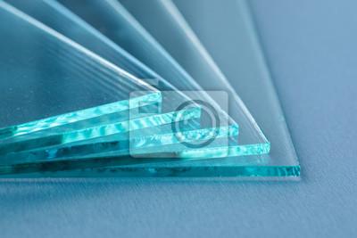 Naklejka Arkusze produkcji fabrycznej hartowane przezroczyste szklane panele cięte na wymiar