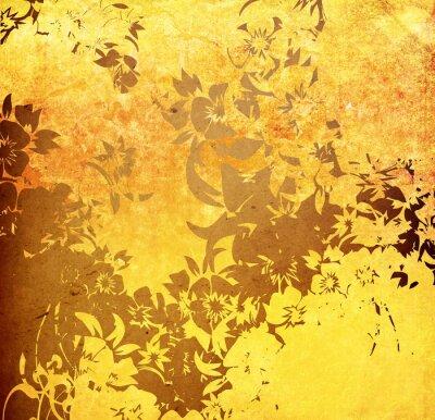 Naklejka asia stylu tekstury i tła