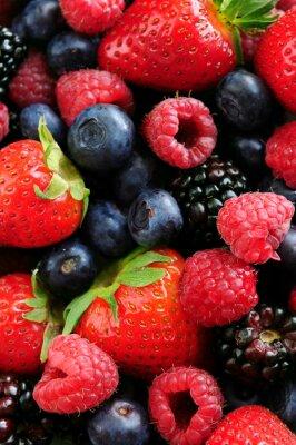 Naklejka Assorted świeże owoce