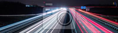 Naklejka Autostrada informacji panoramicznej
