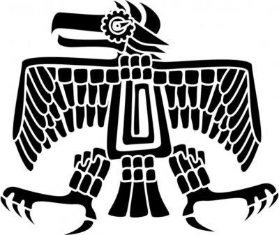 Naklejka Aztec Eagle