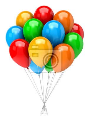 Naklejka Balony Bunch