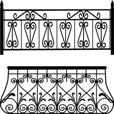 Naklejka balustrady balkonowe