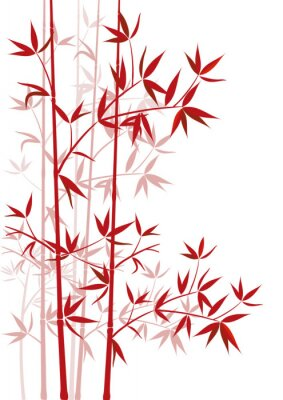 Naklejka Bambus rot