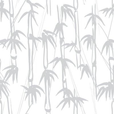 Naklejka Bambus wzór