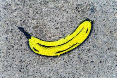Naklejka banan VI