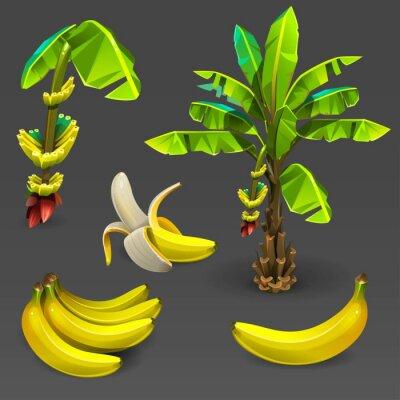 Naklejka Banana zestaw 2