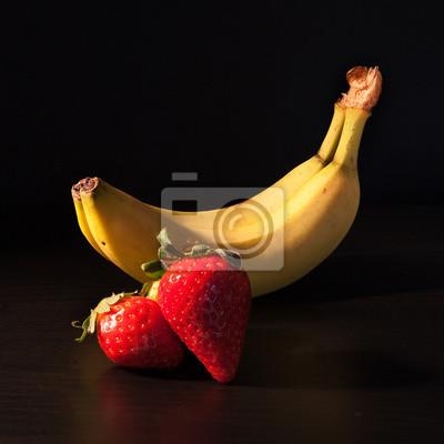 Naklejka banane e fragole