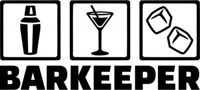 Barman Barman Barkeeper Tripple