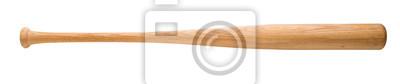 Naklejka Baseball bat na białym