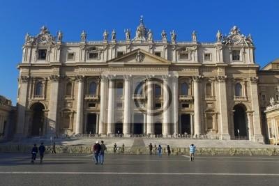 Naklejka Basilica di San Pietro, Roma, Vaticano