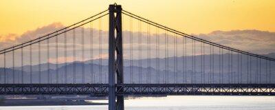 Naklejka Bay Bridge, San Francisco, Kalifornia
