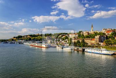 Belgrad od rzeki Sawy