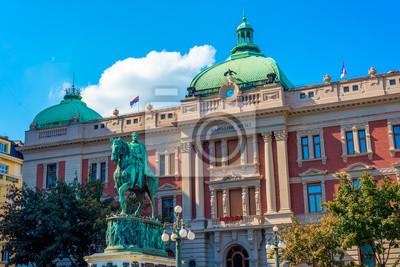Naklejka Belgrad, Serbia