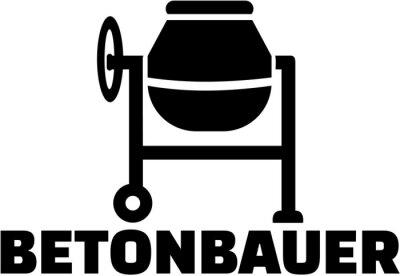 Betoniarz niemiecki tytuł pracy w betoniarce