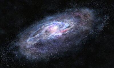 Naklejka Beyond the galaxy