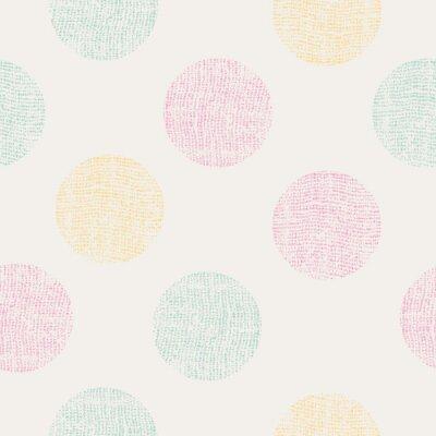 Naklejka bezszwowe wzór kropki