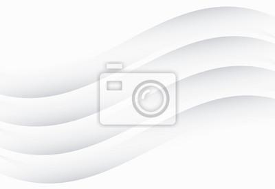 Biała gradientowa abstrakta linia i koszowy wektorowy tło