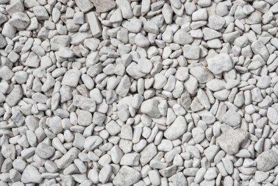 Naklejka Białe kamienie tle