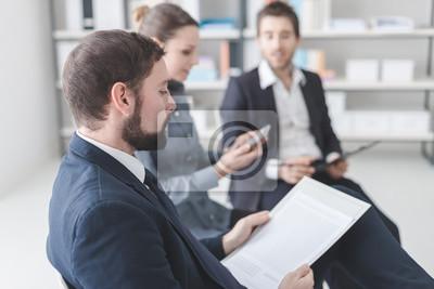 Biznes ludzi na spotkaniu