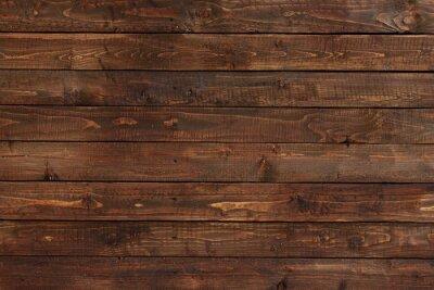 Naklejka bliska, ściany wykonane z drewnianych desek