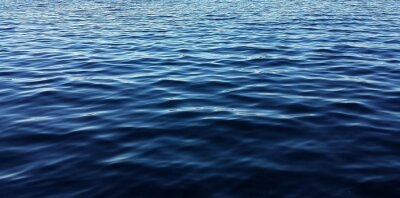 Naklejka Blue water background