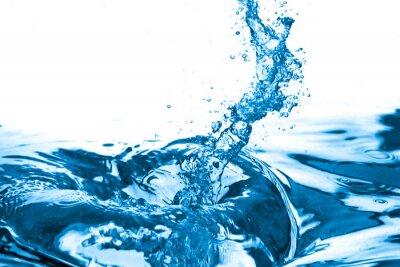 Naklejka Blue water. Zbliżenie. Zdjęcia makro