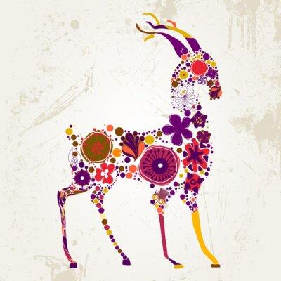 Naklejka boże-jelenia