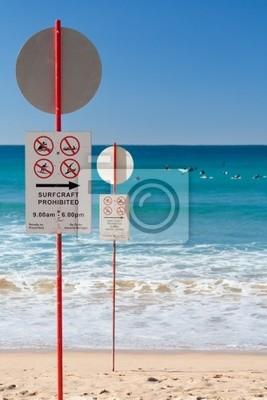 Naklejka Brak śladów surfowania
