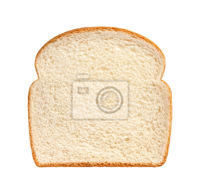 Naklejka Bread Slice isolated