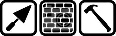 Brick Layer Tools Symbol
