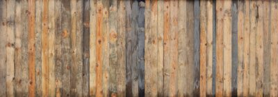 Naklejka Brown drewna deski deski tekstury barwiony tło