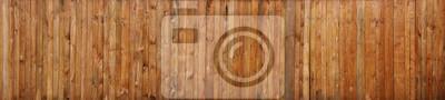 Naklejka Brown drewniany deski ściany tekstury tło