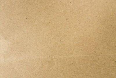 Naklejka Brown papieru łodzie na tle