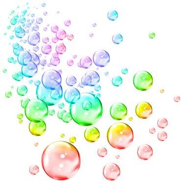 Naklejka bubbles