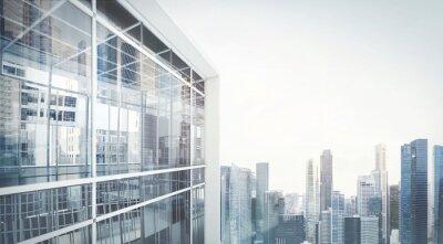 Naklejka Budynek biurowy na zewnątrz