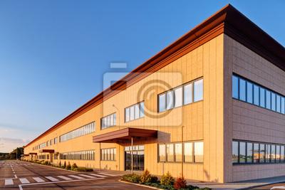 Naklejka Budynek przemysłowy