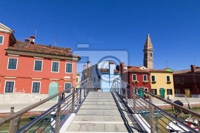 Naklejka Burano, Venezia