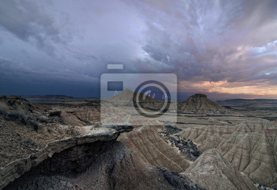 Naklejka Burza na pustyni