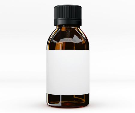 Naklejka Butelka na tabletkę, lek