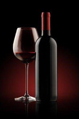 butelkę czerwonego wina