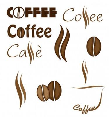 Naklejka Caffè