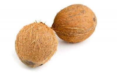Naklejka całe kokosy