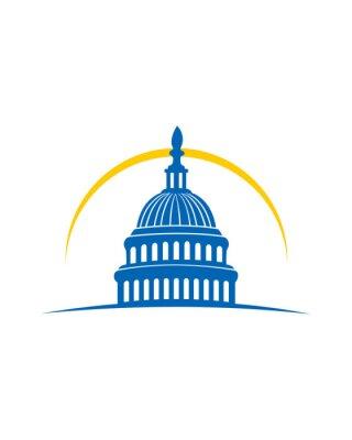 Naklejka Capitol building Logo